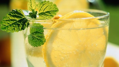 PHOTO: Minty Lemonade
