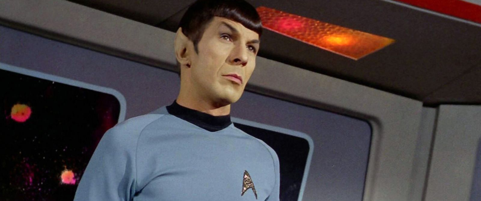 "PHOTO: Leonard Nimoy as Mr. Spock in the Star Trek episode, ""Spocks Brain"" which aired on September 20, 1968."