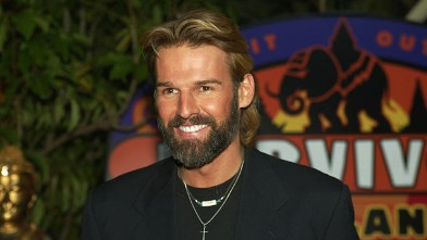 "PHOTO: Winner Brian Heidik at ""Survivor: Thailand Finale and Reunion Show"" at CBS Television City in Los Angeles, Ca. Dec. 19, 2002."