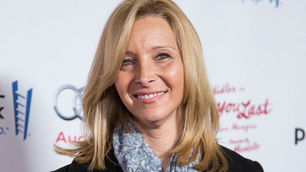 "PHOTO: Actress Lisa Kudrow is seen in this Dec. 5, 2013 file photo at the opening night of ""Ill Eat You Last: A Chat With Sue Mengers"" at Geffen Playhouse in Los Angeles, Calif."