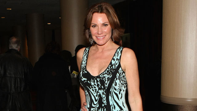 "PHOTO: LuAnn de Lesseps attends the Media Opening for ""Kinky Boots"" on Broadway, April 4, 2013, in New York City."