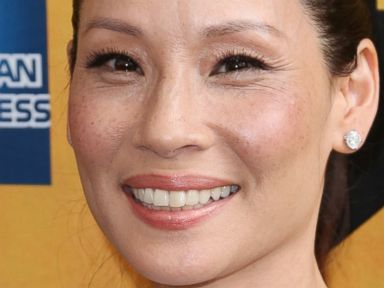 PHOTO: Lucy Liu attends the opening night of Hamilton at the Richard Rodgers Theatre on Aug. 6, 2015 in New York.