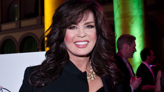 PHOTO: Marie Osmond poses for a photo during the 6th annual Fashion for Paws Runway Show at National Building Museum on April 14, 2012 in Washington, DC.