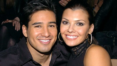 PHOTO: Mario Lopez and Ali Landry