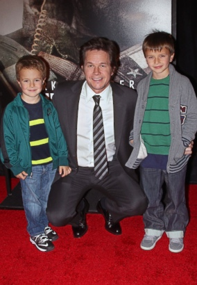 How Adorable Is Mark Wahlberg With His Sons?