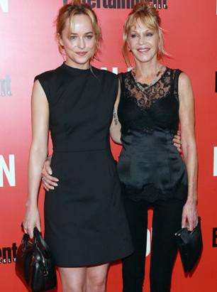 Melanie Griffith and Daughter Dakota Johnson Hit the Red Carpet