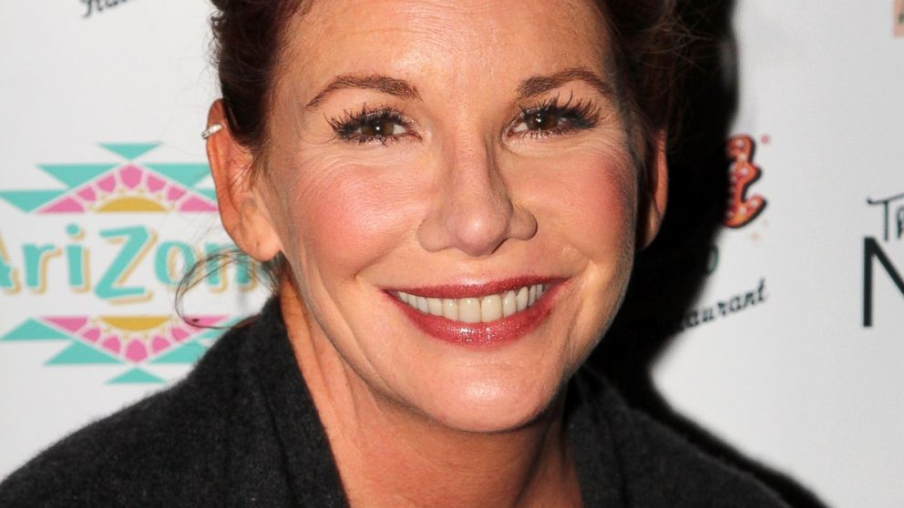 "PHOTO: Melissa Gilbert poses during a reading and signing of her new book ""Daisy & Josephine"" at Buca di Beppo Times Square on Jan. 22, 2014 in New York City."