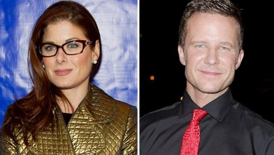 PHOTO: Debra Messing and Will Chase