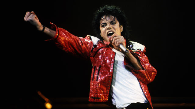 PHOTO: Michael Jackson performs in concert circa 1986.