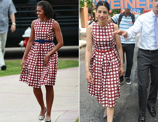 Fashion Faceoff: Michelle Obama vs. Huma Abedin