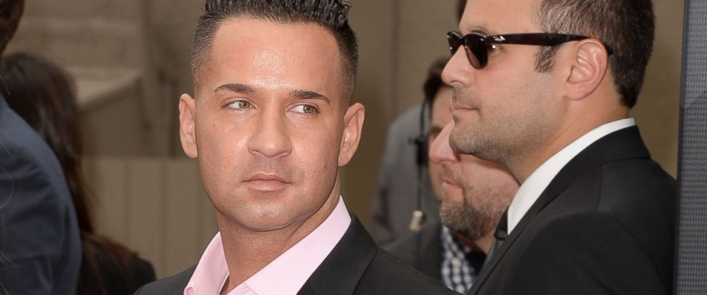 "PHOTO: TV personality Mike ""The Situation"" Sorrentino arrives at the MTV Movie Awards on April 14, 2013 in Culver City, Calif."