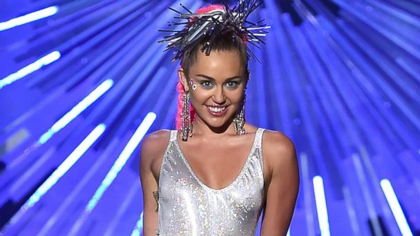 PHOTO:Miley Cyrus onstage during the 2015 MTV Video Music Awards, Aug. 30, 2015, in Los Angeles.
