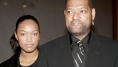 PHOTO: Laurence Fishburne and his daughter Montana arrive at the National Dream Gala to celebrate the Martin Luther King Jr. Memorial groundbreaking Nov. 13, 2006 in Washington, DC.