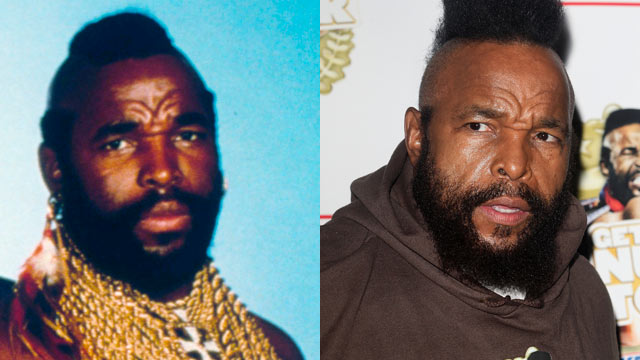 "PHOTO: Mr. T played B.A. Baracus in ""The A-Team."""