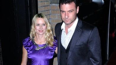 "PHOTO: Naomi Watts and Liev Schreiber attend the ""Filth and Wisdom"" screening at the IFC Center, October 2008, in New York City."