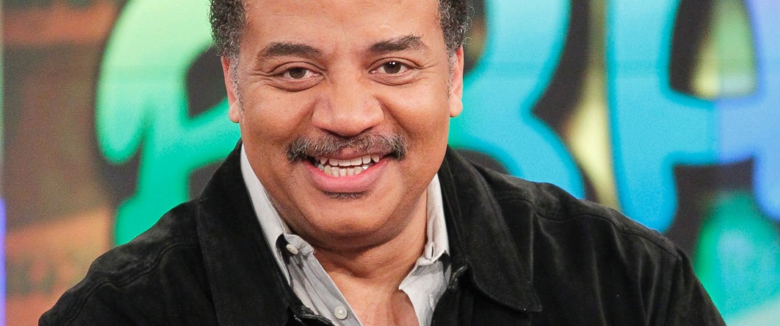 "PHOTO: Neil deGrasse Tyson appears on ""The View,"" March 31, 2015."