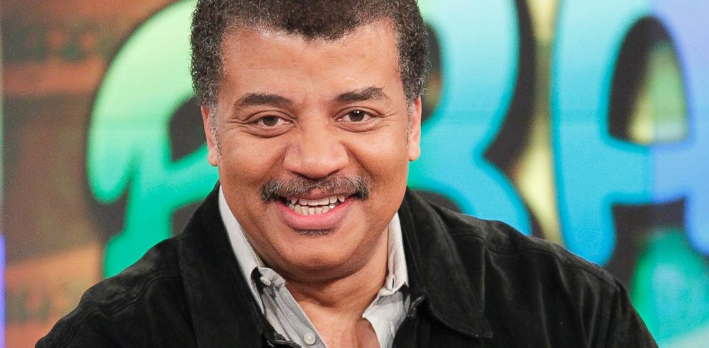 PHOTO: Neil deGrasse Tyson appears on The View, March 31, 2015.