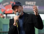"PHOTO: Neil Diamond performs ""Sweet Caroline"" during a game between the Boston Red Sox and the Kansas City Royals in the eighth inning, April 20, 2013, at Fenway Park in Boston."