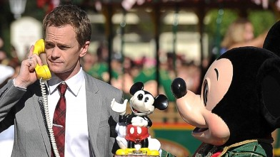 Neil Patrick Harris Takes an Important Call