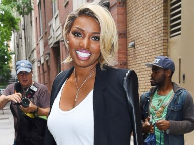 PHOTO: NeNe Leakes seen leaving Live! with Kelly and Michael studios in Manhattan on June 16, 2015 in New York, New York.