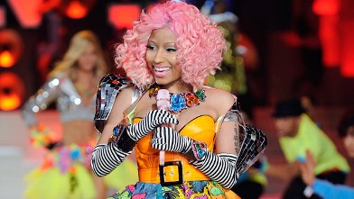PHOTO: Nicki Minaj performs during the 2011 Victoria's Secret Fashion Show at the Lexington Avenue Armory Nov. 9, 2011 in New York City.