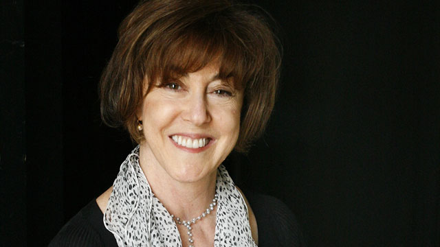 PHOTO: Nora Ephron poses for photographs at the Washington Jewish Literary Festival in Washington, D.C., Sept. 6, 2006.
