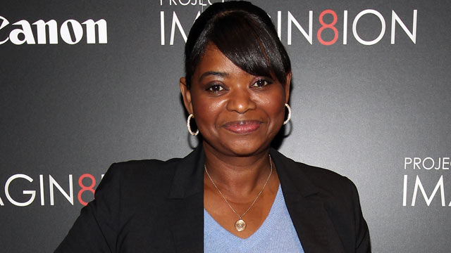 "PHOTO: Octavia Spencer attends the premiere of ""When You Find Me"" inspired by Canon's ""Project Imagin8ion"" held at the Creative Artists Agency in this Nov. 21, 2011 in Los Angeles, Cali."