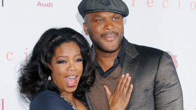 "PHOTO: Oprah Winfrey and Tyler Perry arrive at AFI FEST 2009 Gala Screening of ""Precious"" at Grauman's Chinese Theater on Nov. 1, 2009 in Hollywood."