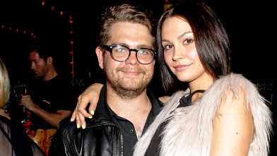 PHOTO: Jack Osbourne and Lisa Stelly attend Cops4Causes inaugural 'Heroes Helping Heroes' official 9/11 benefit at Pink Taco on September 11, 2012 in Los Angeles, Calif.