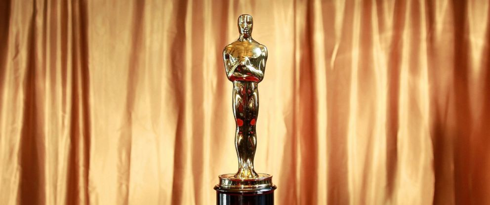 "PHOTO: The Oscar trophy at the 83rd Annual Academy Awards ""Meet The Oscars"" New York."