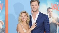 Chris Hemsworth and Elsa Pataky Enjoy a Red Carpet Date Night