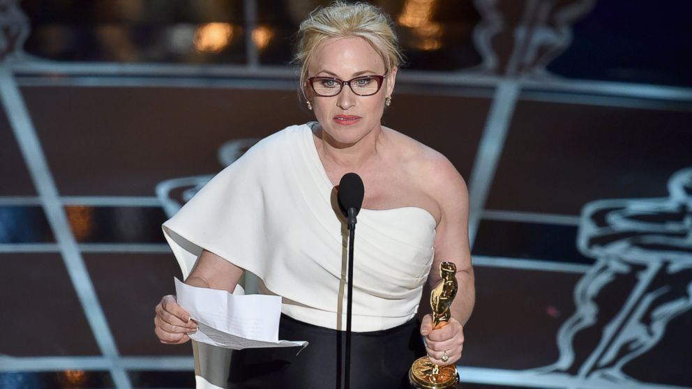 Oscars 2015: Patricia Arquette Discusses Charity Work, Politics ...