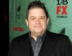 "PHOTO: Patton Oswalt arrives at the premiere of FXs ""Justified"" Season 4 at Paramount Studios, Jan. 5, 2013, in Los Angeles."