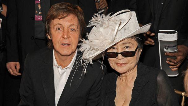 gty paul mccartney yoko ono ll 131023 16x9 608 Paul McCartney on Ending Feud With Yoko Ono
