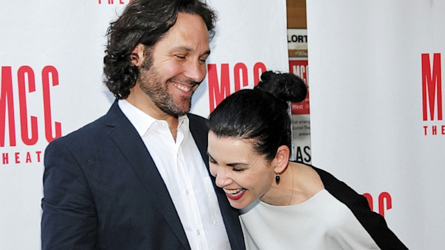 Paul Rudd Cracks Up Julianna Margulies on Red Carpet
