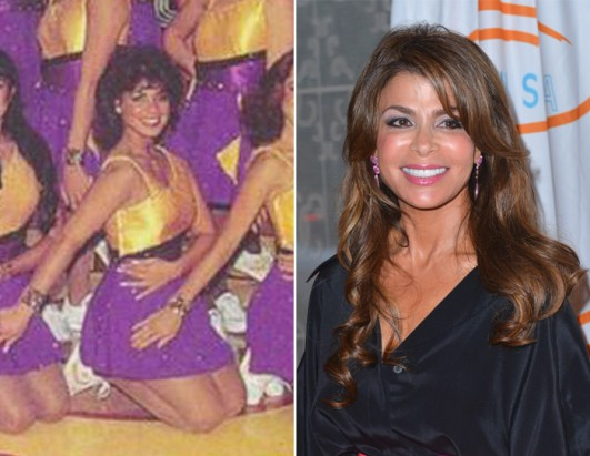 Before Fame, a Lakers Cheerleader