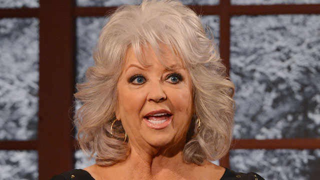 PHOTO: Paula Deen visits FOX Studios, Dec. 6,