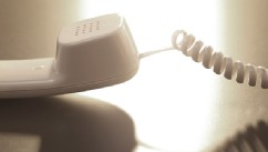 PHOTO: A telephone is shown close-up in this file photo.