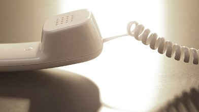 PHOTO: A telephone
