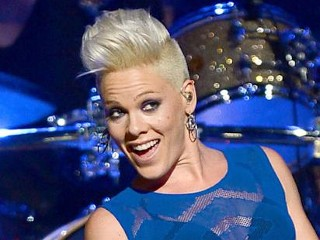 Photos: Pink Goes Sheer at 'IHeartRadio' Festival