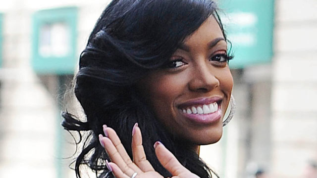 PHOTO: Porsha Stewart is seen, April 4, 2013, in New York City.