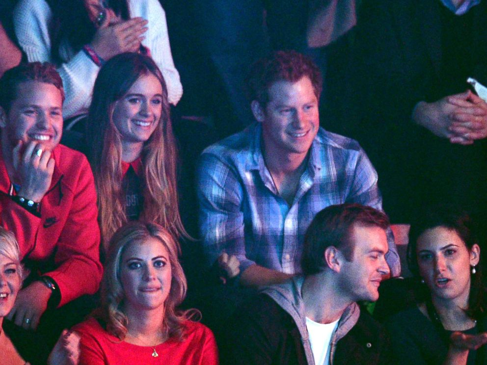 PHOTO: Cressida Bonas and Prince Harry attend We Day UK, a charity event to bring young people together at Wembley Arena, March 7, 2014, in London.