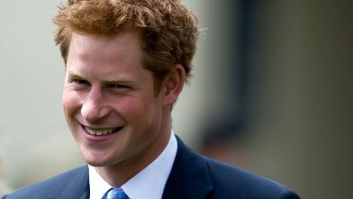 PHOTO: Prince Harry's Vegas Discovery: Free Drinks While Gambling