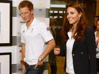 Photos: Kate and Harry Visit Team Britain