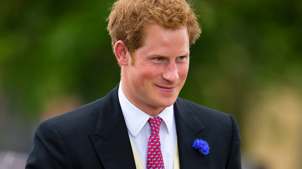 PHOTO: Prince Harry attends the wedding of Lady Melissa Percy and Thomas Van Straubenzee at St Michaels Church, June 22, 2013 in Alnwick, England.