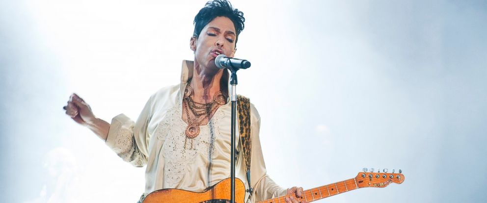 PHOTO: Prince headlines the main stage on the last day of Hop Farm Festival on July 3, 2011 in Paddock Wood, United Kingdom.