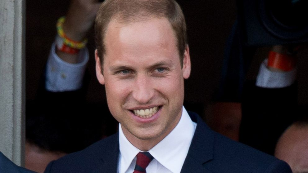 PHOTO: Prince William, Duke of Cambridge attends a reception at the Grand Place on August 4, 2014 in Mons, Belgium.