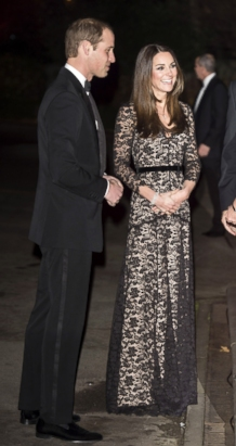 Kate Middleton Shows Off Her Tiny Waist in Lace