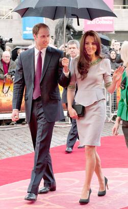 Will, Kate Wax Figures Unveiled