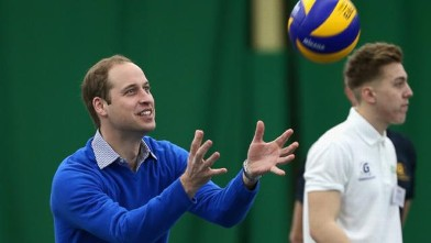 Prince William Shows His Sporty Side